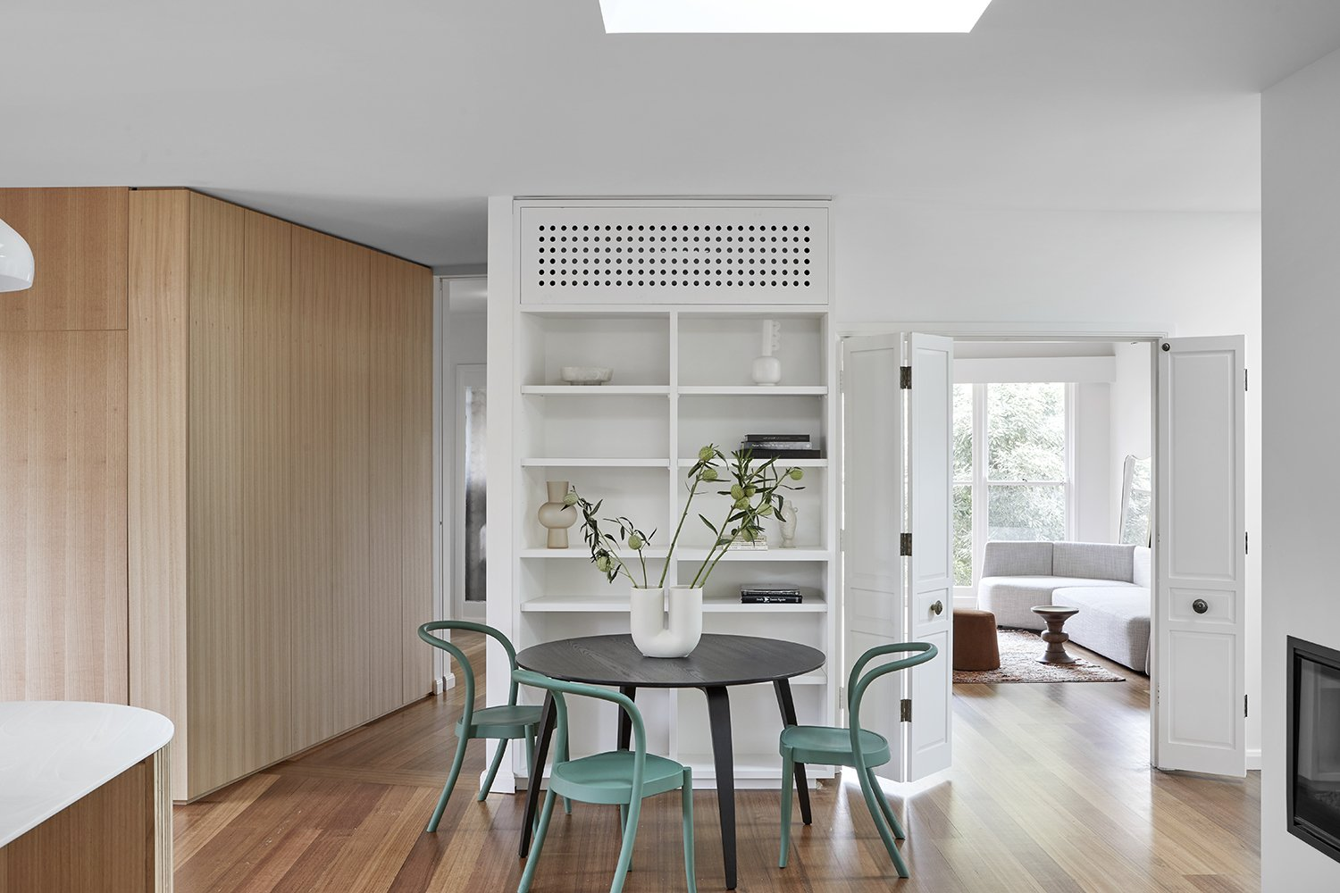 Toorak House living space